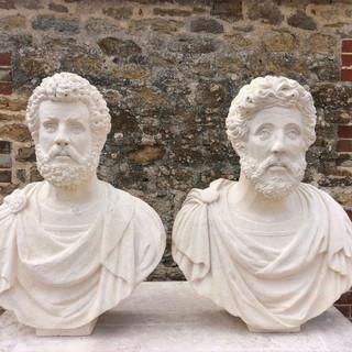 Antoninus Pius and Marcus Aurelius