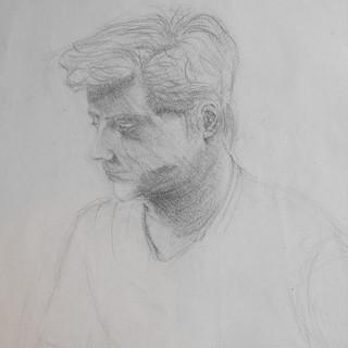 Portrait, quick sketch.