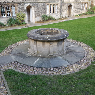 St Edmunds College Well, Oxford.