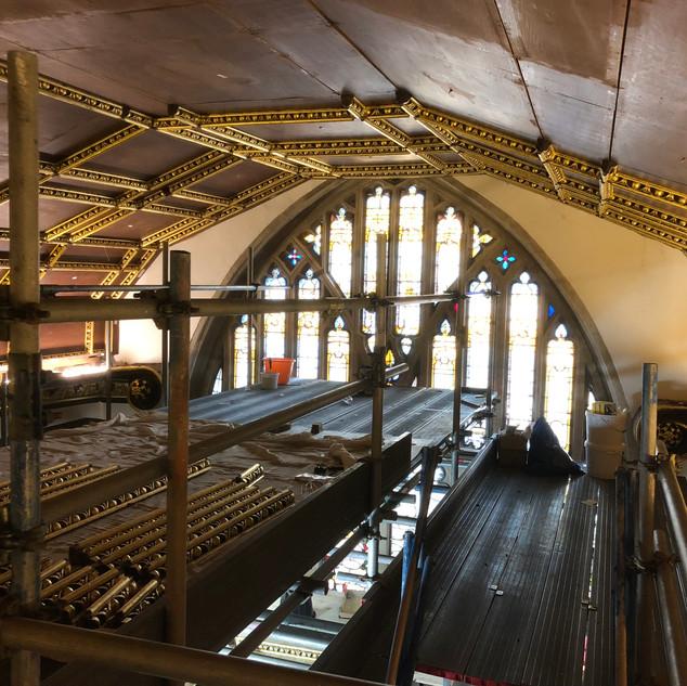 Lincoln College Chapel, Oxford.