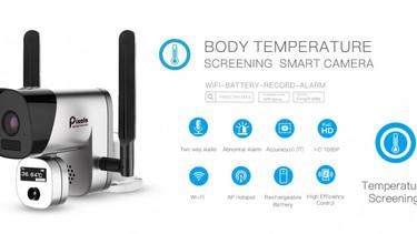 รีวิวกล้องวัดไข้ไร้สาย Pixels กล้องวัดอุณหภูมิร่างกาย แบบไม่สัมผัสตัว