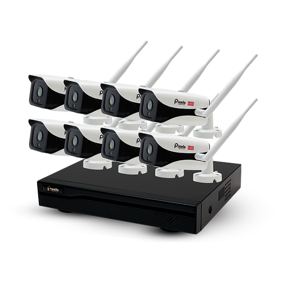 WiFi kits All New X series 8CH 3.0MP
