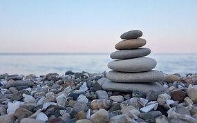 équilibre zen gestion conflits galets