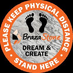 Braza Stone Floor Graphics
