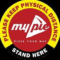 My Pie Pizza Floor Graphics StandHere.pn
