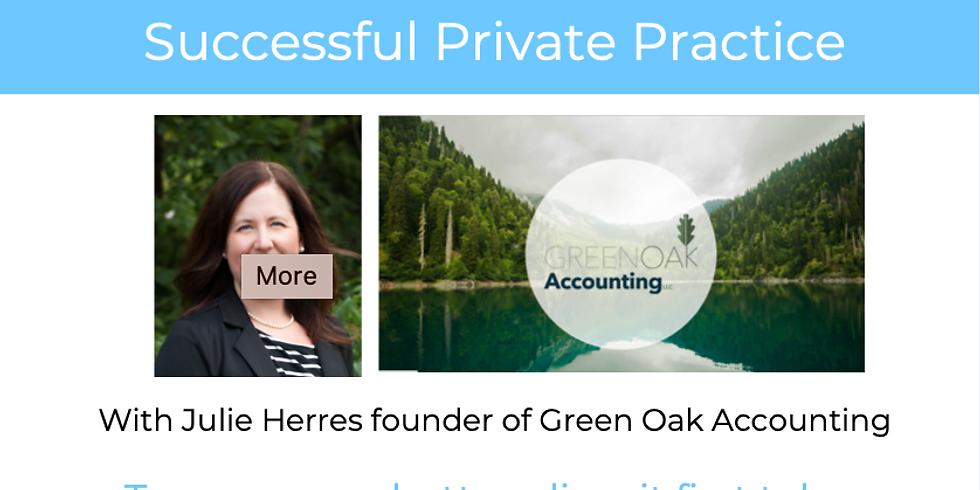 Create A Financially Successful Private Practice