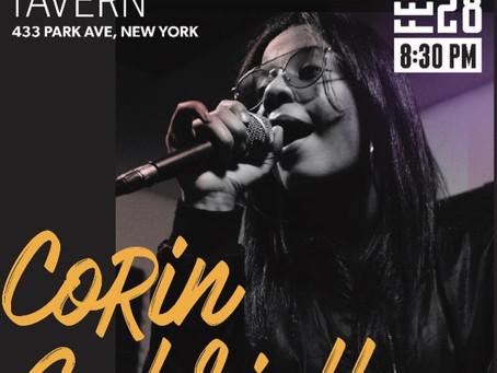 See Corin Gabriella LIVE Friday, Feb 28th 8:30pm!