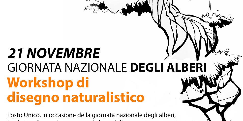 La Giornata Nazionale dell'Albero - Workshop di disegno naturalistico