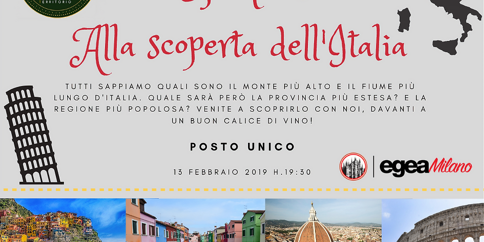 Geoquiz alla scoperta dell'Italia