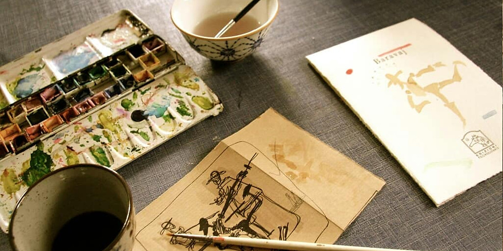 Workshop di disegno con Neshat