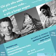 Locandina Festival Leggere Le Montagne (seconda edizione)