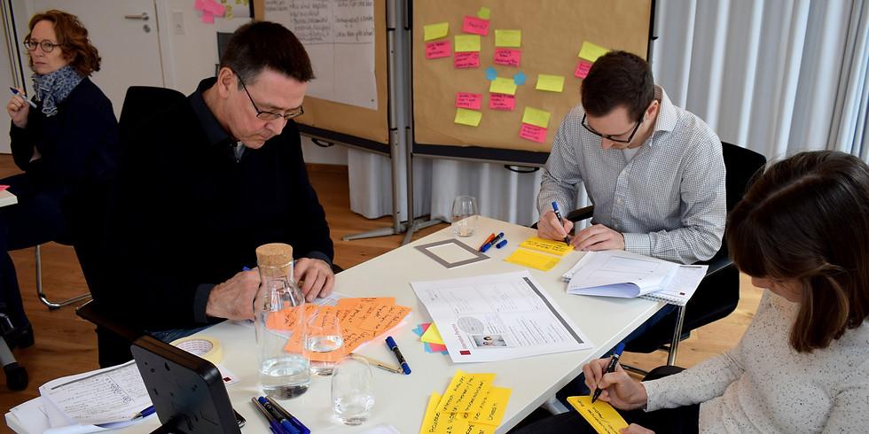 Innovieren mit Design Thinking: in sechs pragmatischen Schritten zum Erfolg (Basistraining)