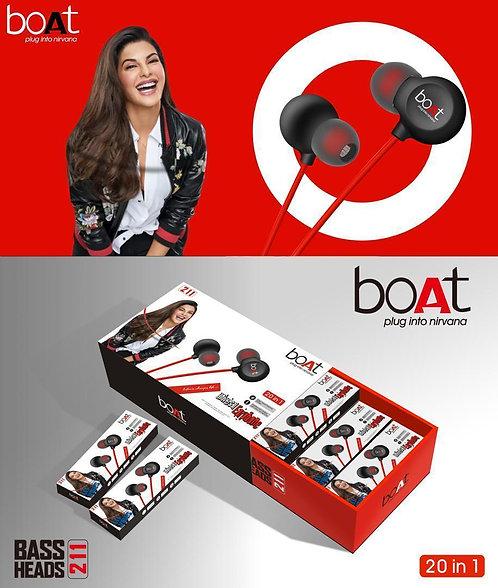 Boat earphone with Mic