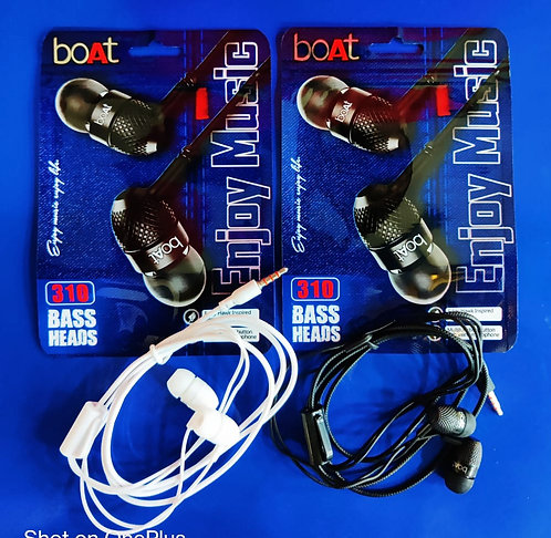Boat 310 Earphone with Mic good base Wholesale Price