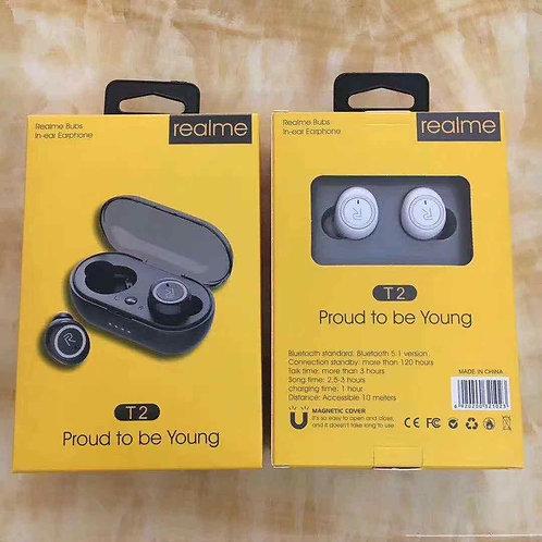 RealME T2 Bluetooth Earbuds Copy