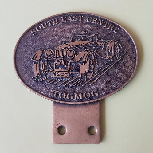 Morgan Sports Car Club, Tog MOG badge