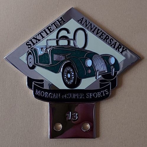 Morgan +4 Super Sports 60 Years, green car