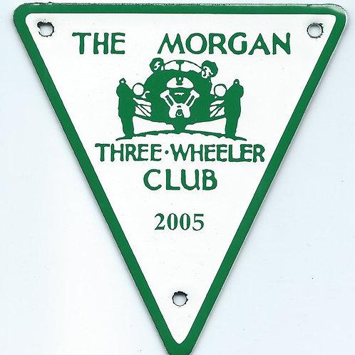 MTWC 60TH ANNIVERSARY BADGE 2005