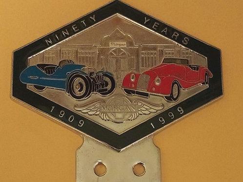 1909-1999, Ninety Years Morgan, Green rim
