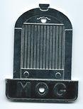 Rare MOG Sweden badge