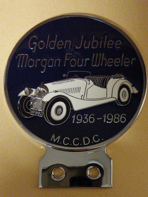 Golden Jubilee Morgan 4-wheeler, 1986