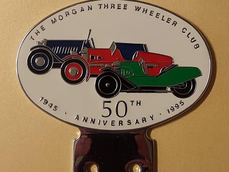 Morgan 3-wheeler badges