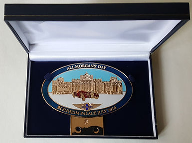 All Morgans' Day 2016 Blenheim badge