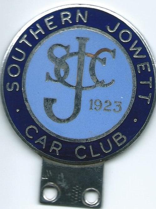 Southern Jowett Car Club badge, pre WW II