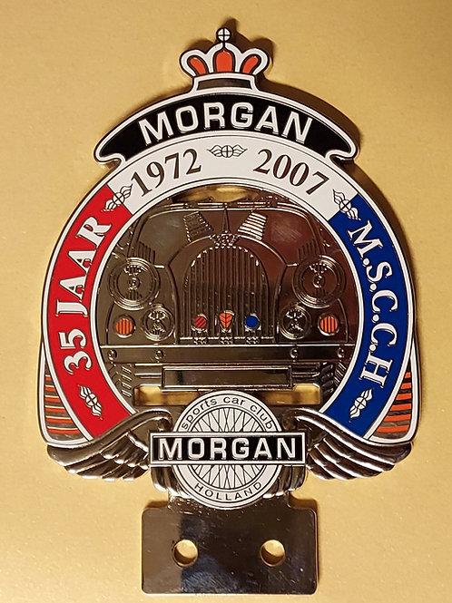 Morgan Sports Car Club Holland 35 Years, 1972 - 2007