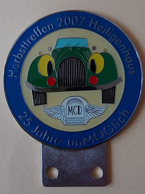 Morgan Club Deutschland, Herbsttreffen 2007, 25 Jahre Sektion UnMOGlich