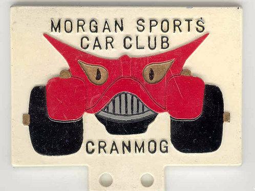 MSCC CRANMOG - THE PEWTER BADGE