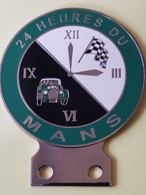 24 Heures du Mans, Morgan, green rim