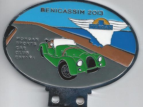 Morgan Sports Car Club España, Benicassim 2013