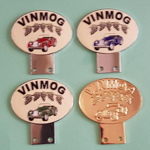 VinMog badges, set