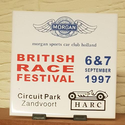 Morgan Sports Car Club Holland/British Race Festival 1997 tile