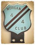 The original, genuine, Morgan 4/4 Club badge. Rare!
