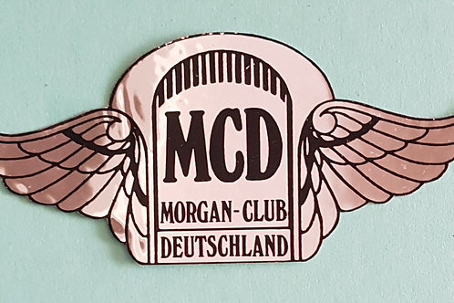 "Morgan Club Deutschland ""flying tombstone"" sticker"