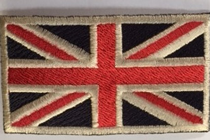 Union Jack patch 7 x 4 cms
