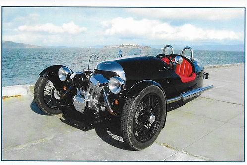 New Morgan 3-wheeler  promotional card