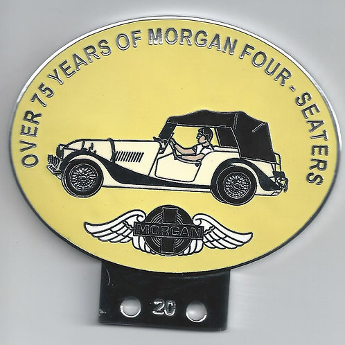 OVER 75 YEARS OF MORGAN 4-SEATERS, ROYAL IVORY CAR