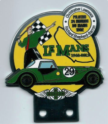 50 Years Morgan Class win Le Mans