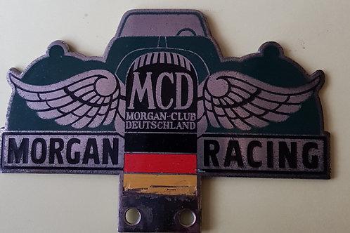 Morgan Club Deutschland, Morgan Racing badge