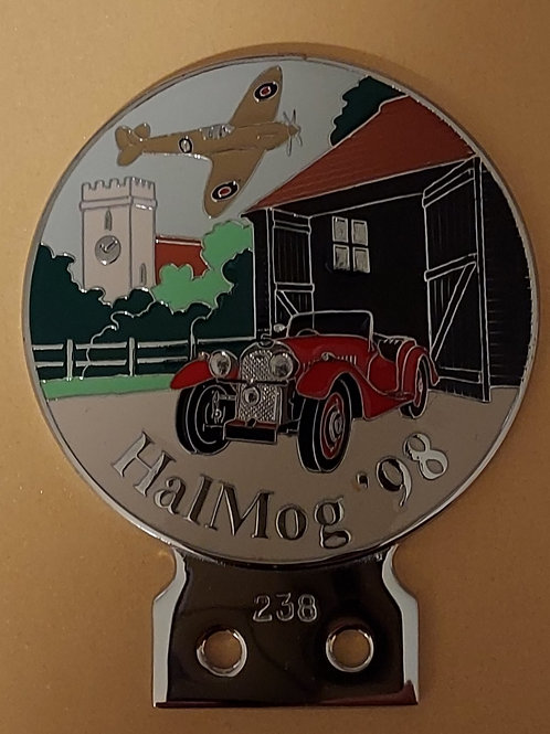 Hal MOG 98 badge, unused