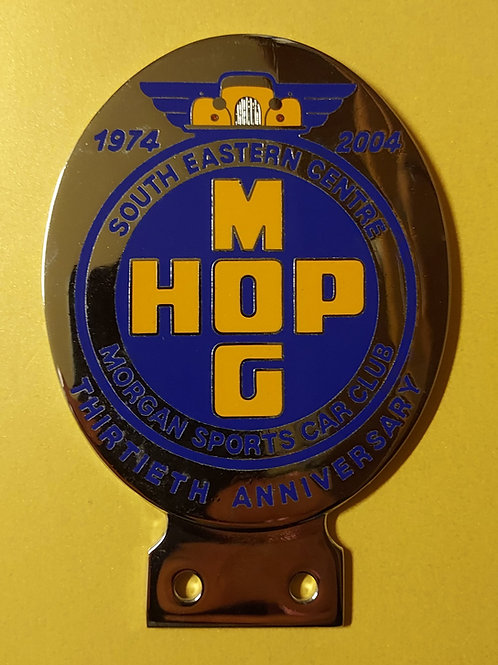 MSCC HopMog 30th anniversary badge