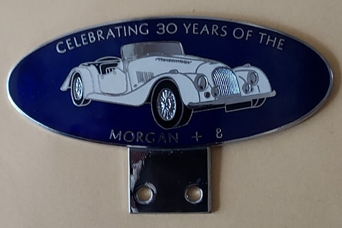 Celebrating 30 Years of the Morgan +8