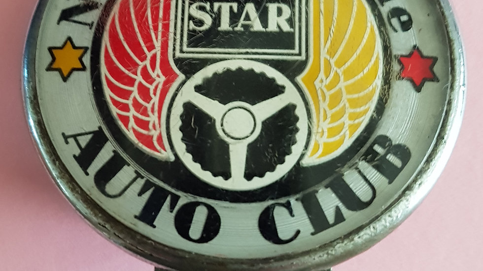 The Star Auto Club, vintage badge