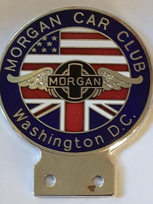 Morgan Car Club Washington DC badge