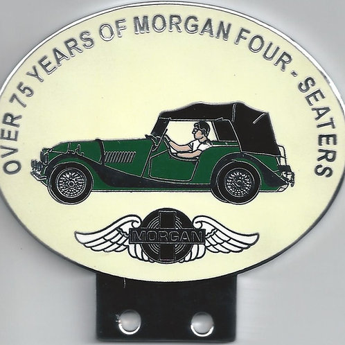 Over 75 Years of Morgan 4-seaters, green Morgan