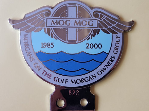 Morgans on the Gulf Morgan Owner Group 2000 badge