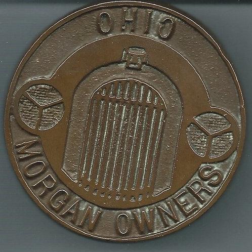 Ohio Morgan Owners bronze grille badge